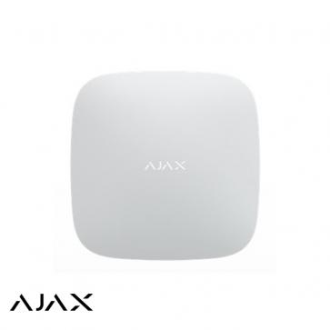Ajax Hub, wit, met GSM en LAN communicatie