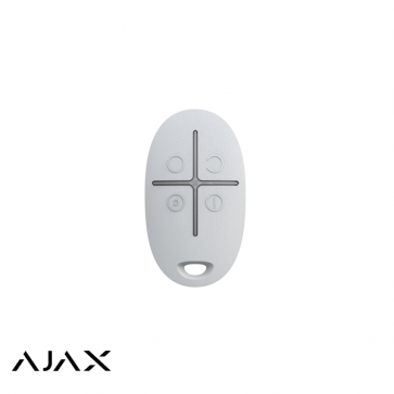 Ajax SpaceControl, wit, draadloze afstandsbediening