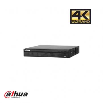 Dahua 4 kanaals 4K PoE recorder incl 1 TB HDD