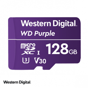 WD Purple 128GB microSDXC card