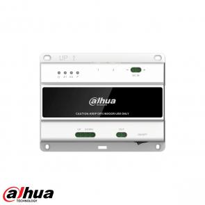Dahua 2-wire Switch (20 indoor, 2 doorstations) incl voeding