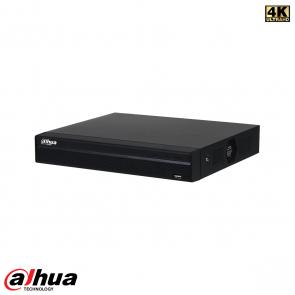 Dahua 4 kanaals Compact 1U 1HDD 4xPoE NVR incl. 1 TB HDD