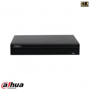 Dahua 8 kanaals Compact 1U 4K&H.265 Lite NVR incl 2TB HDD