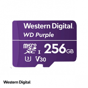 WD Purple 256GB microSDXC card