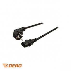 Power Cable 2 meter Schuko - IEC-320-C13