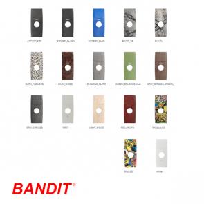 Bandit 320 Frontplaat special dip (speciale motieven)