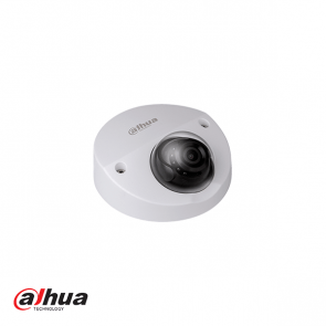 Dahua 4MP WDR vandaalproof IR dome camera 2.8mm, incl SD en mic