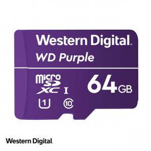 WD Purple 64GB microSDXC card