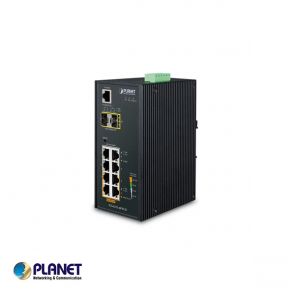 Planet Industrial 4-Port PoE + 4-Port + 2-Port SFP