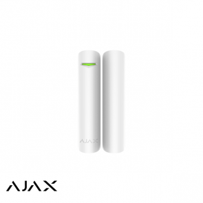 Ajax DoorProtect, wit, magneetcontact en mini magneet