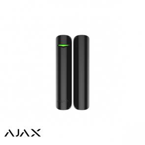 Ajax DoorProtect, zwart, magneetcontact en mini magneet