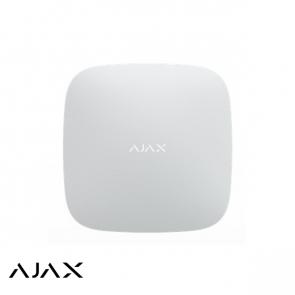 Ajax Hub 2, wit, met 2x GSM en LAN communicatie