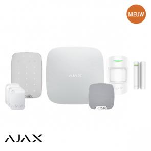 Ajax PLUS KIT 1 WIT: Hub 2, Keypad Plus, Tag, MotionProtect, Doorprotect, HomeSiren