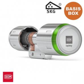 DOM TAPKEY BOX: incl. PRO dubbele cilinder 1-zijde gecontroleerd
