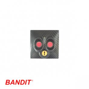 Bandit 320 Panniekknop