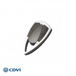 Metalen design handzender 4-kanaals 433 Mhz, met proximity chip
