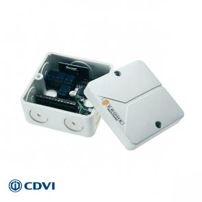 ERONE mini-ontvanger 433 Mhz, 4-kanaals, 12/24 Vac/dc