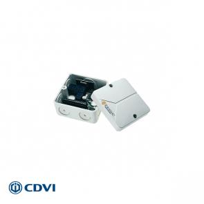 ERONE mini-ontvanger 433 Mhz, 2-kanaals, 12/24 Vac/dc