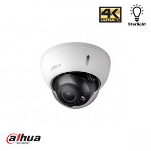 Dahua 4K Starlight HDCVI IR dome camera
