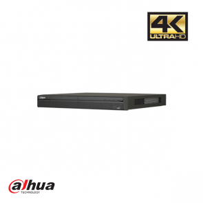 Dahua 8 kanaals 1U 8PoE 4K&H.265 Pro Network Video Recorder ePoE incl 2 TB HDD
