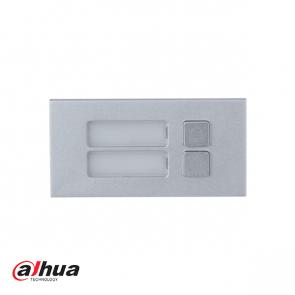 Dahua Modular 2-Button Module, half unit
