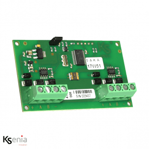 Ksenia Divide - PCBA Bus Isolator/Repeater module