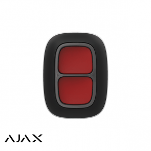 Ajax Dubbele Paniekknop Zwart