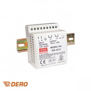 POWER SUPPLY (VOEDING) 24V DC 1.5A DIN RAIL