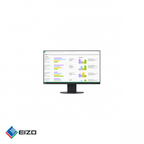 "Eizo FlexScan 24"" full HD professional IPS monitor Zwart"
