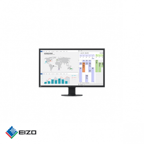 "Eizo FlexScan 27"" full HD professional IPS monitor Zwart"
