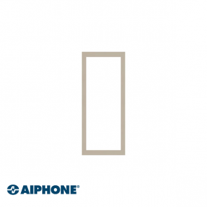 Aiphone 3-module front frame & bracket