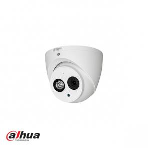 Dahua 2 Megapixel 1080P Water-proof IR HDCVI Dome Camera, metal and mic (3.6 mm)
