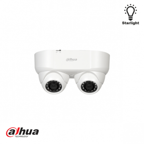 2MP Starlight HDCVI IR Dual-lens Camera 2.8mm