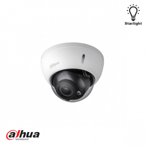 Dahua 2MP Starlight HDCVI IR Dome PoC Camera