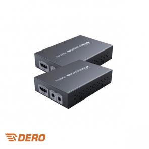 4K HDMI over utp converter extender, 70m (1080P) en 40m (4K)