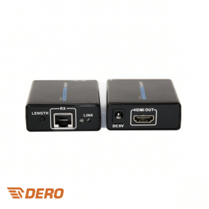 HDMI converter over 1 UTP set sender + receiver max 30m