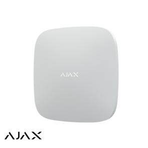 Ajax Hub 2 Plus, wit, met 2x GSM, Wifi en LAN communicatie