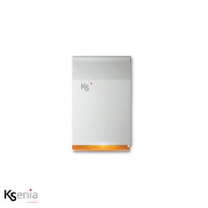 Ksenia Imago - BUS outdoor sirene, wit/oranje