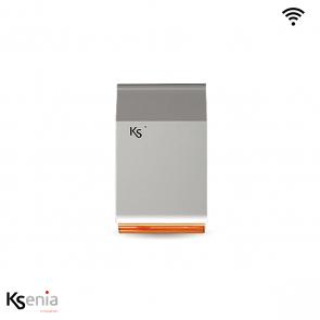 Ksenia Imago wls - Wireless outdoor sirene, wit/oranje
