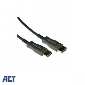 ACT 100 meter HDMI Hybride HDMI-A male - HDMI-A male