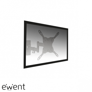 Ewent Easy Turn TV en monitor wandsteun tot 42 inch, 3 pivot