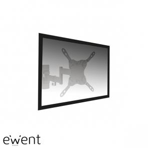 Ewent Easy Turn TV en monitor wandsteun tot 42 inch, 3 pivot
