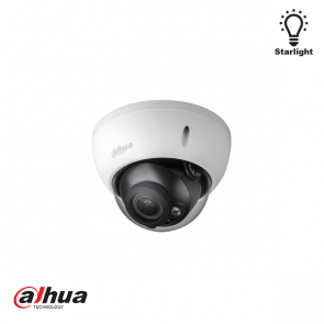 Dahua WDR Starlight vandaalproof dome camera varifocal motorzoom (12/24V)