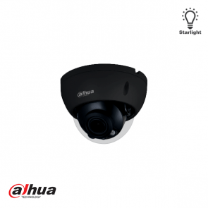 Dahua 4MP Lite AI IR Vari-focal Dome Network Camera ZWART