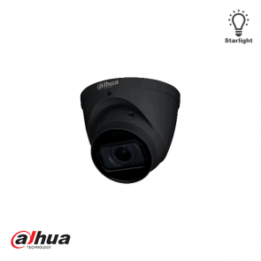 Dahua 2MP Motorized 2.7-13.5mm AI Starlight IR Dome Camera ZWART
