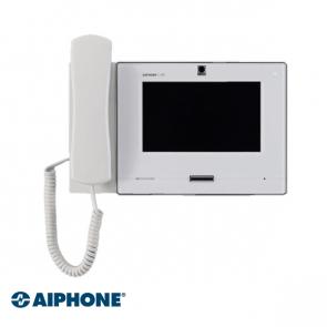 Aiphone 7 inch, Master station met hoorn, WIT