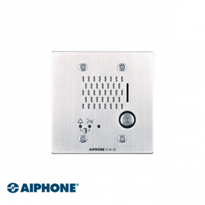 Aiphone Audio door station, flush mount COMPACT