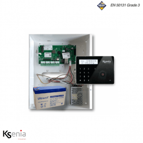 Ksenia kit 16 zones incl. keypad zwart