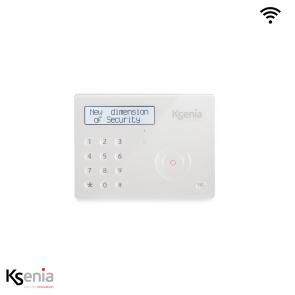 Ksenia Ergo wls - Wireless keypad met batterij, wit