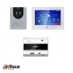 Dahua Intercom kit: VTH5422HW, VTO2202F-P-S2, VTNS2003B-2 en VTM115